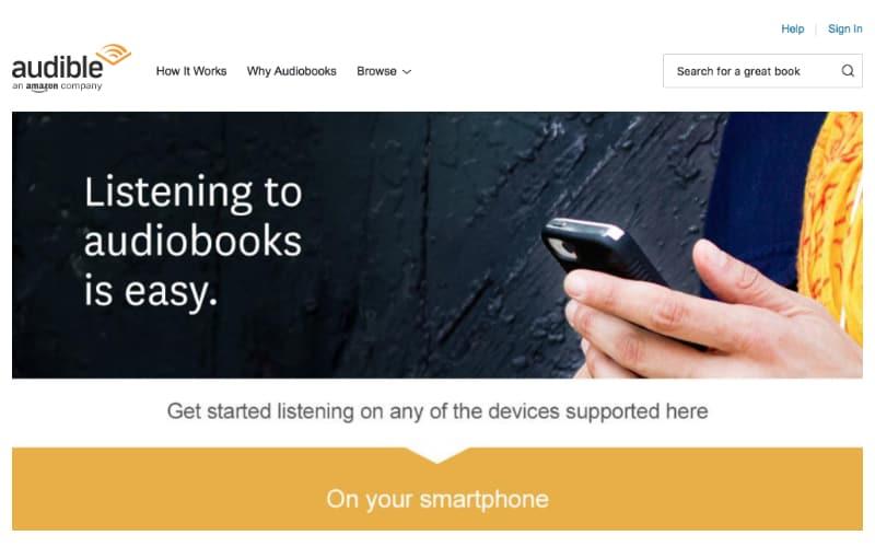 Audible - Audio Books